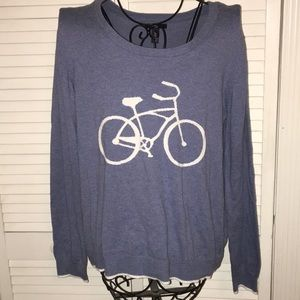 Bicycle Sweater L